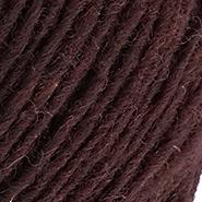 Inselschaf Pflaumenmus dunkel Wolle Ansicht