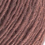 Inselschaf Pflaumenmus hell Wolle Ansicht