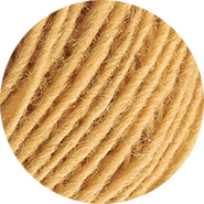 Inselschaf Sanddorn hell Wolle Ansicht